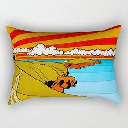 Newquay Headland Rectangular Pillow