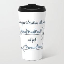 Human Interaction Travel Mug