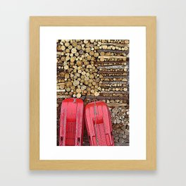 let's go and have fun! Framed Art Print