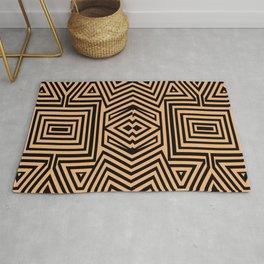 African Geometric Tribal Pattern 2 Rug