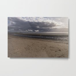 Dark clouds and clear sky Metal Print