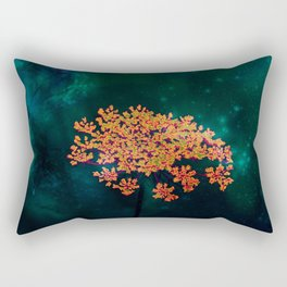 The flower in the Night Rectangular Pillow