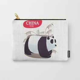 China Panda travel poster Carry-All Pouch