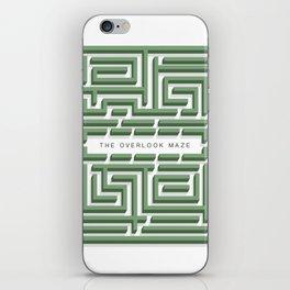 The Overlook Maze iPhone Skin