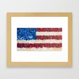 USA Proud Framed Art Print