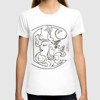 mucha T-shirts featuring Alphonse Mucha inspired Art Nouveaux Cadmium Illustration by Cadmium Craig