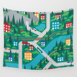 Play Map Wall Tapestry
