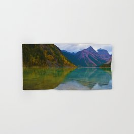 Kinney Lake in Mount Robson Provincial Park, BC / Canada Hand & Bath Towel