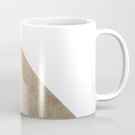 Simply Shadow in White Gold Sands Coffee Mug