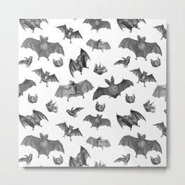 Batty Bats Metal Print