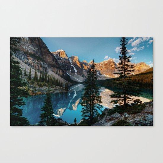 Moraine Lake Canada Canvas Print
