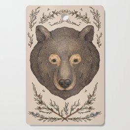 The Bear and Cedar Cutting Board