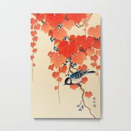 Autumn Songbird  Metal Print