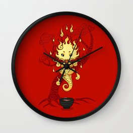 Dragon Tea Wall Clock
