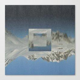 Magdalenefjord Canvas Print