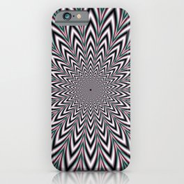 Pulsating Arrows iPhone Case