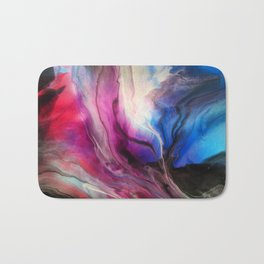 Sky Walker - Original Abstract Painting Bath Mat