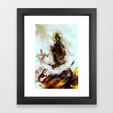 [ Daryl Dixon * Norman Reedus ] the walking dead Framed Art Print