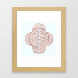 Geometry of a Ginger Jar III - series Framed Art Print