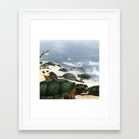 turtles Framed Art Prints featuring Turtles by nicky2342