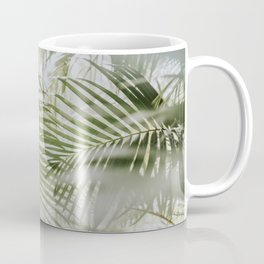 Aloha Palm Leaves // Haiku, Maui Coffee Mug