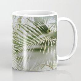 Aloha Palm Leaves // Haiku, Maui Coffee Mug