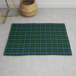 Scottish Clan MacKay Tartan Plaid Rug