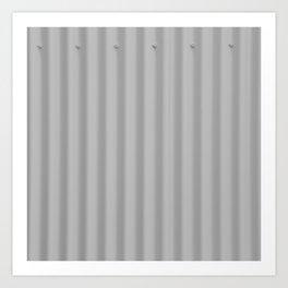 Metal simplicity Art Print