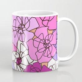 Summer Peony Garden Coffee Mug