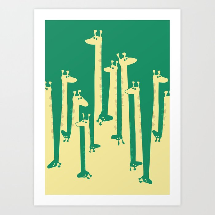 Such A Great Height Art Print