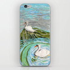 Two Swans iPhone & iPod Skin