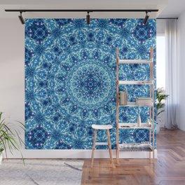 Crystal Radiance Mandala Wall Mural