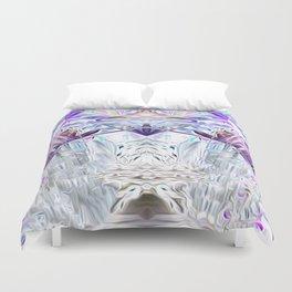 Diamond Light Consciousness Duvet Cover