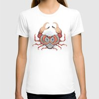 cancer T-shirts featuring Cancer by Vibeke Koehler