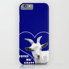 Totes Ma Goats - Blue iPhone 6 Slim Case