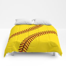 Fast Pitch Softball Comforters
