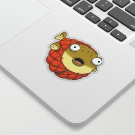 Puffer fish Sticker