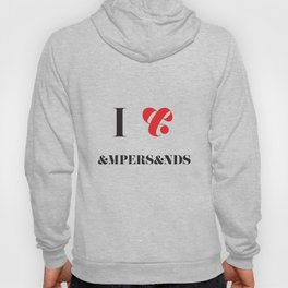 I heart Ampersands Hoody