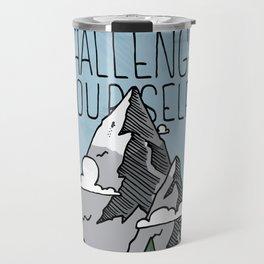 Challenge Yourself Travel Mug