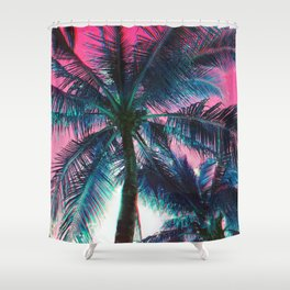 Of the Trees - RG_Glitch Series Shower Curtain