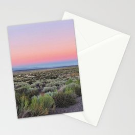California Desert Road Stationery Cards