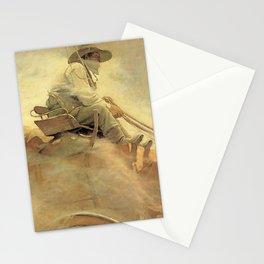 """The Ore Wagon"" Western Art by NC Wyeth Stationery Cards"