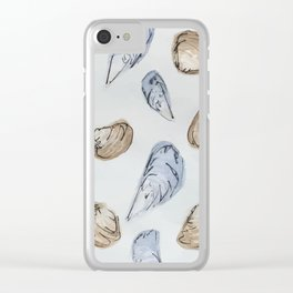 Mussels and Clams Clear iPhone Case