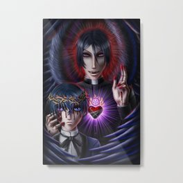 Take Me To Church Metal Print