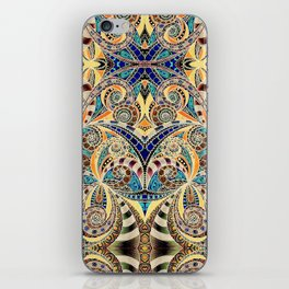 Drawing Floral Zentangle G240 iPhone Skin