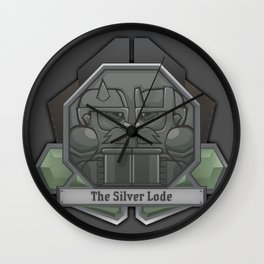 The Silver Lode Wall Clock