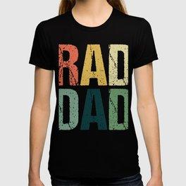 Radio Technologist Rad Tech Father's Day Father Daddy Papa Gift Rad Dad T-shirt