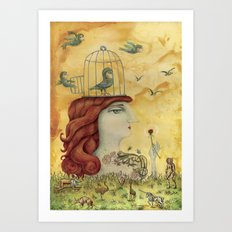 Release Yourself Art Print