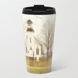 Country Church Travel Mug