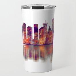 New Orleans Louisiana Skyline Travel Mug
